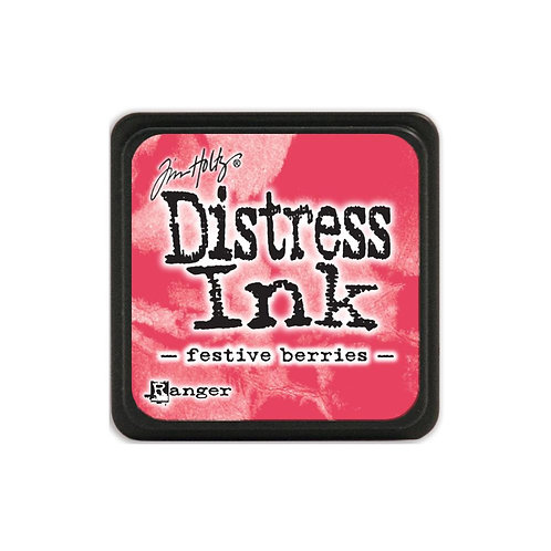 Mini Distress Ink: Festive Berries