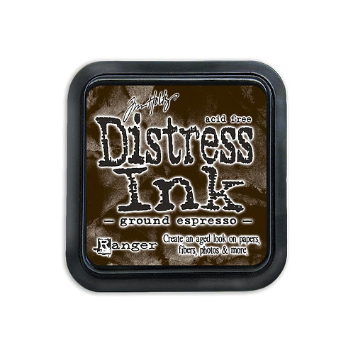 Mini Distress Ink: Ground Espresso