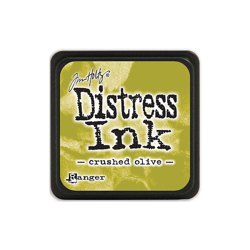 Mini Distress Ink: Crushed Olive