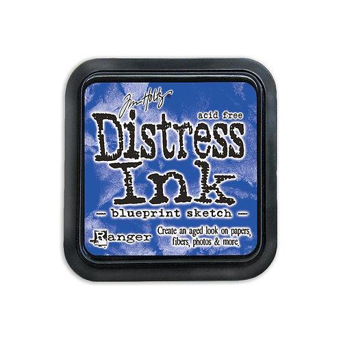 Mini Distress Ink: Blueprint Sketch