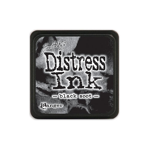 Mini Distress Ink: Black Soot