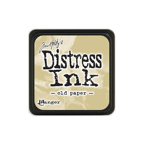 Mini Distress Ink: Old Paper