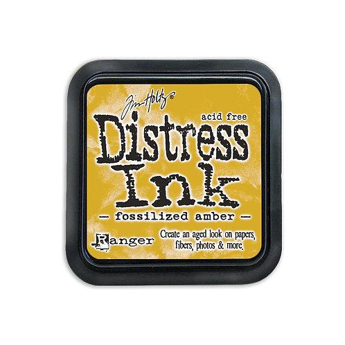 Mini Distress Ink: Fossilized Amber