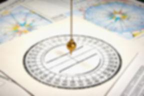 Astrological pendulum for tarot and astr