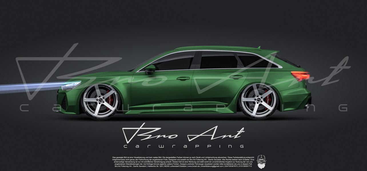 RS6 Dark Green