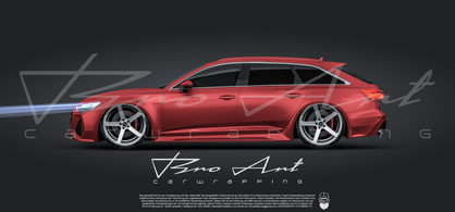 RS6 Glanz Rot