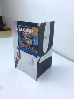 Card stock brochure