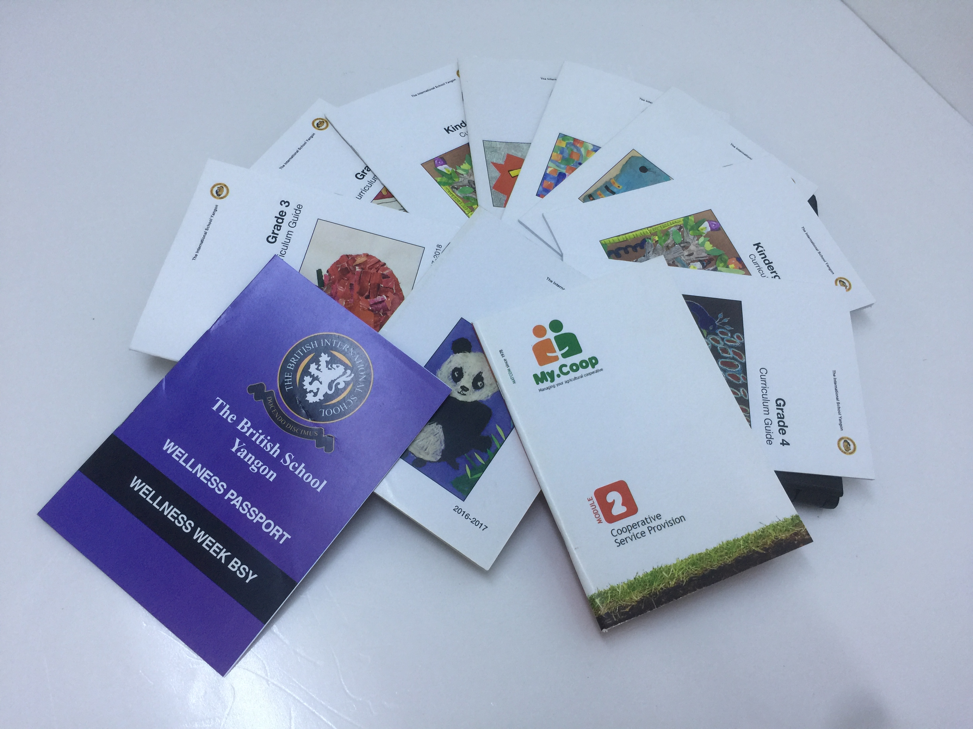 Various booklets