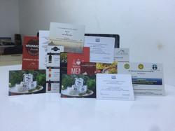 Range of brochures