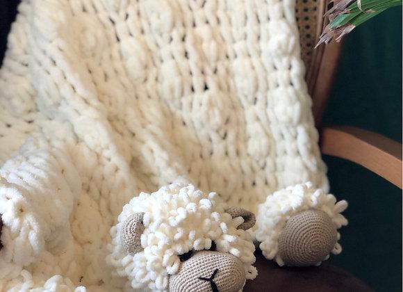 Koyun Yumoş Battaniye 🐑