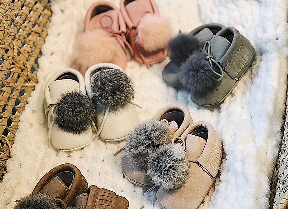 Ponpon Bebek Ayakkabı