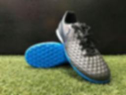 Nike Tiempo Legend 8  Turf (Black_Blue).