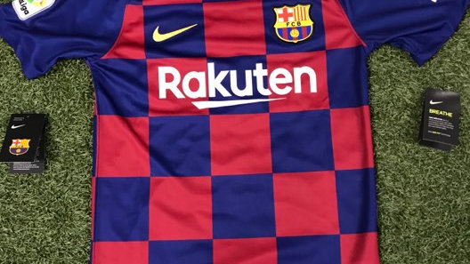 19/20 FC Barcelona Home Jersey
