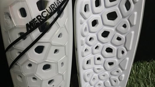 Nike Mercurial Lite Shinguards (White)