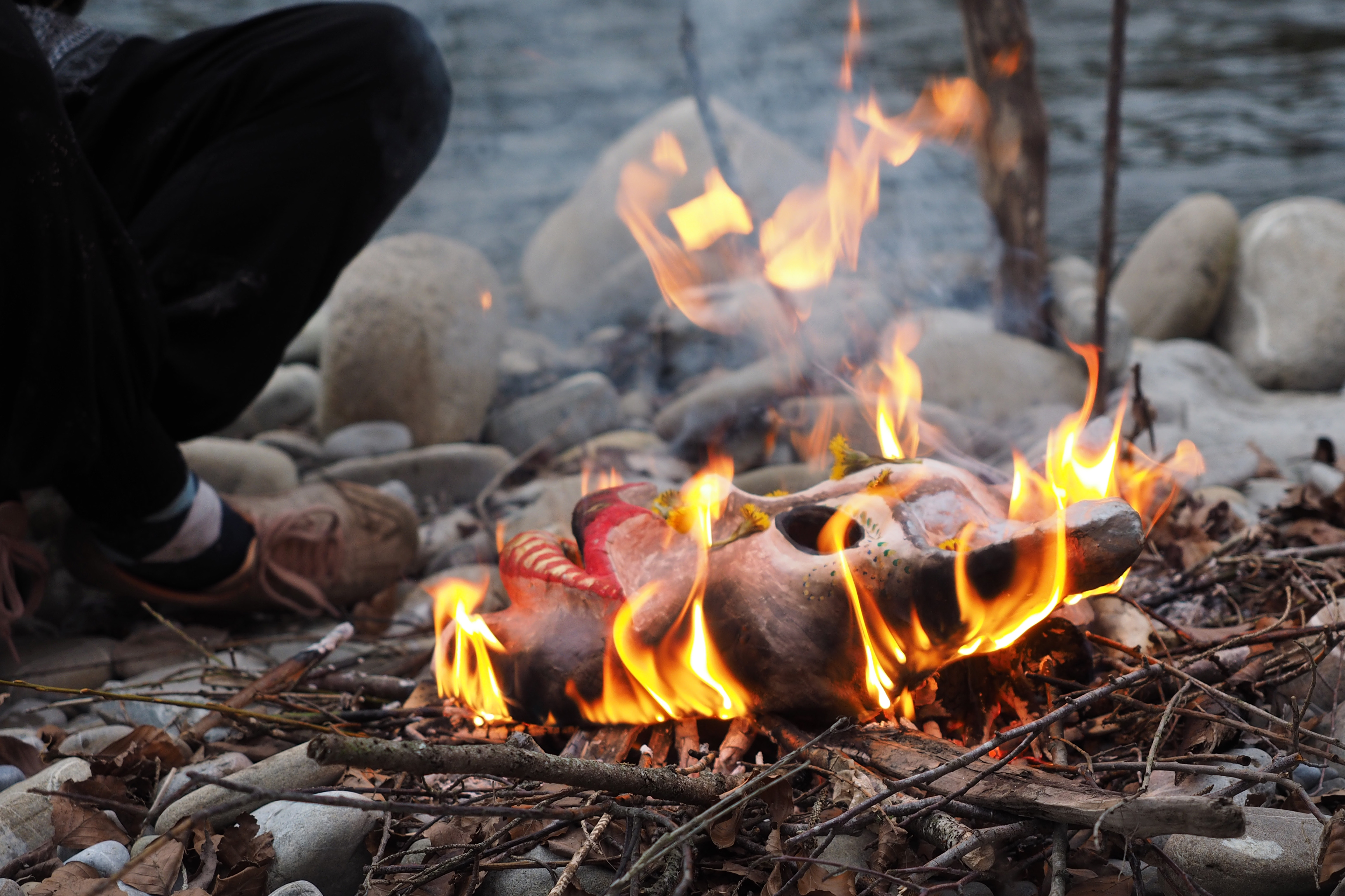 Abschiedsfeuer-Ritual