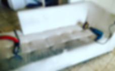 ניקוי ספה מבד כותנה