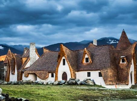 ארמון החימר בעמק הפיות ברומניה  