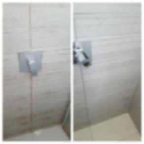 ניקוי מקלחות מאבנית ועובש
