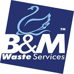 High res logo- B& M Waste.jpg