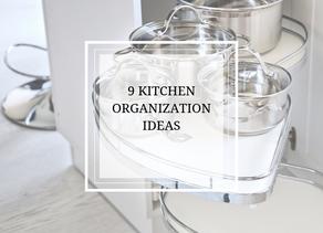 Nine Kitchen Organization Ideas