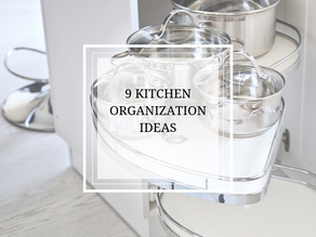 Nine Kitchen Organization Ideas