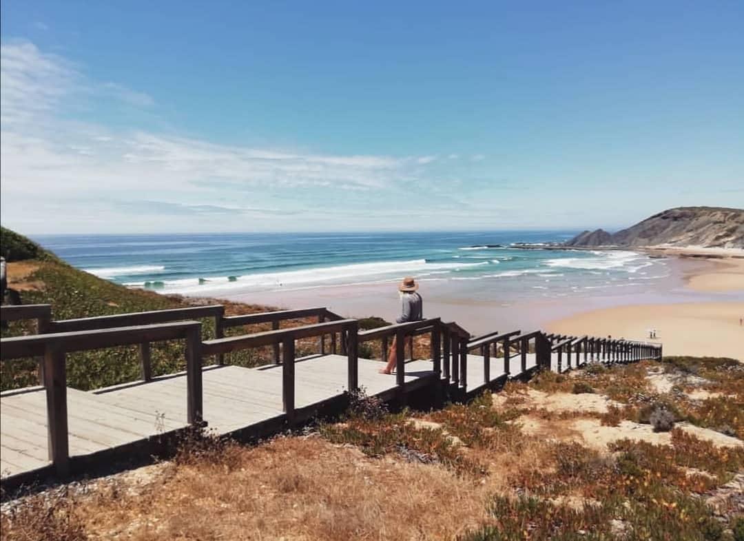 Amoreira beach algarve, yoga retreat