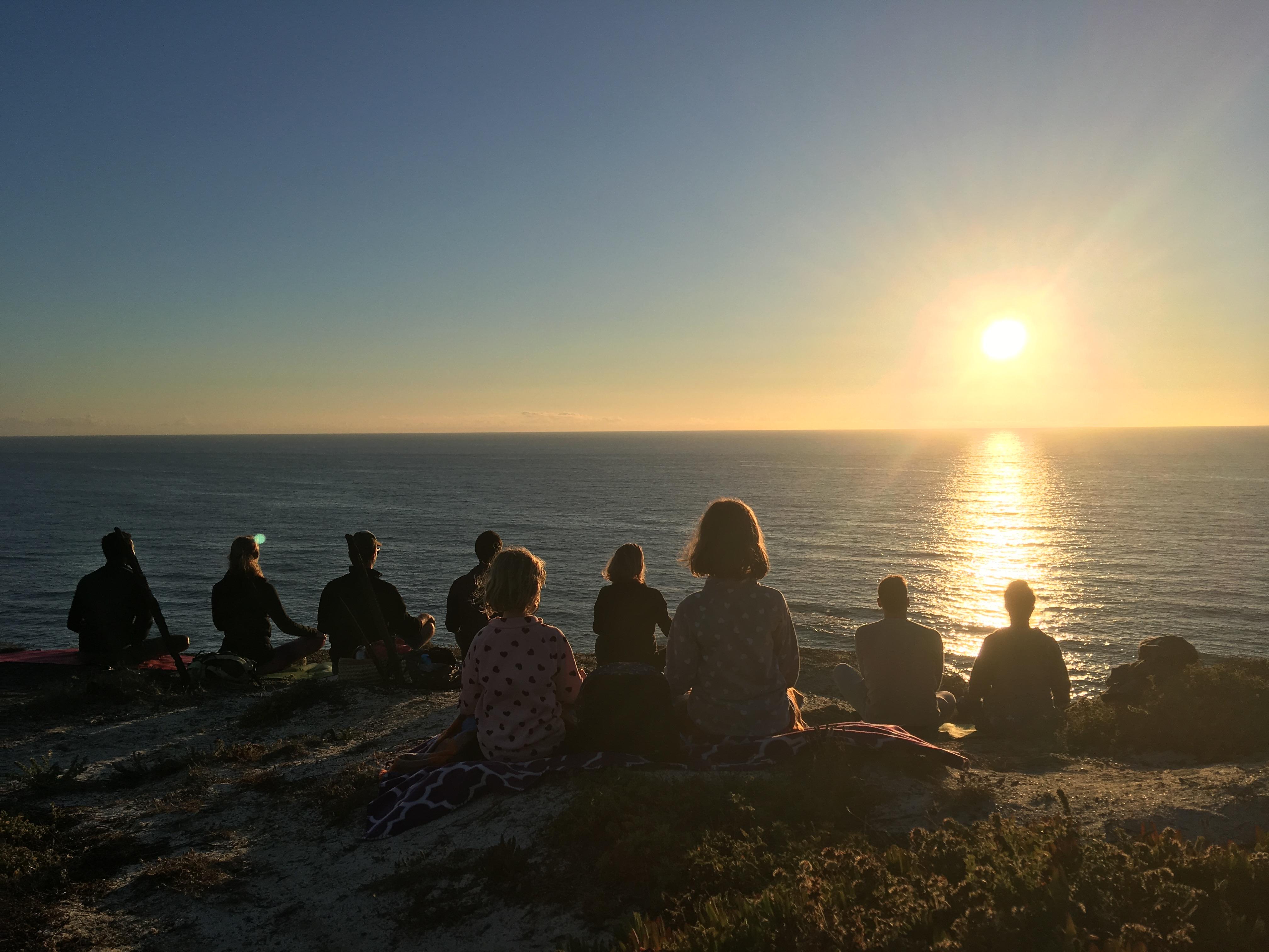 Meditation with the sunset - powerful & awakening