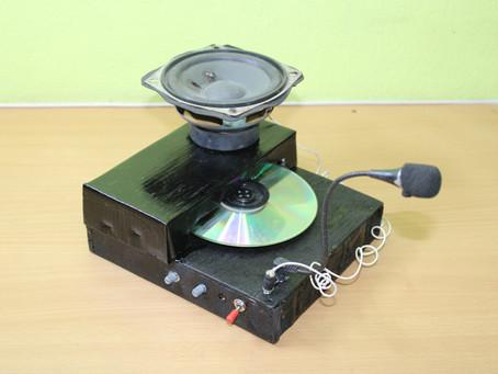 How to Make CD recorder machine