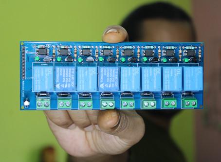 8 Channel Relay Switch Module
