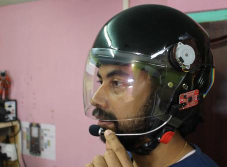How to Make Smart Helmet