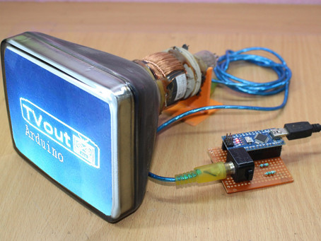 How to Make TV with Arduino