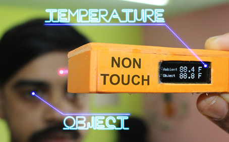 Non Contact Pocket Thermometer