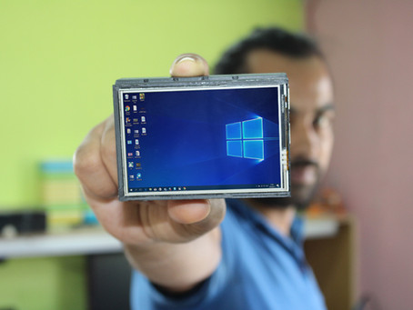 Pocket Computer Raspberry Pi Installation