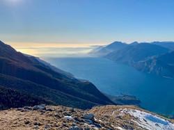 Il Lago visto dal Monte Baldo