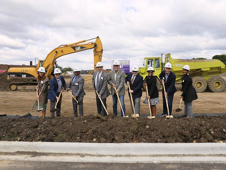 Groundbreaking for Anthony Place senior affordable units at Prairie Centre