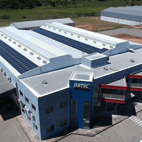 Sustentabilidade dentro de casa – Eficiência energética na fábrica da DBTEC