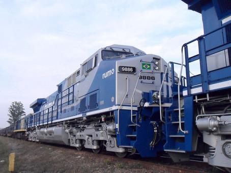 Aumentam as expectativas de crescimento do transporte ferroviário no Brasil