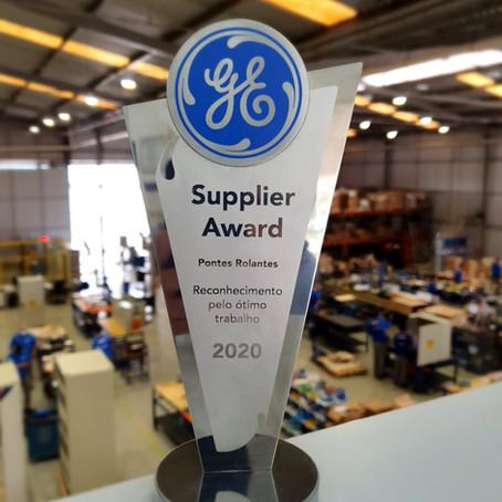 GE Power Conversion Best Partner Award 2020 convida e faz reconhecimento especial à DBTEC