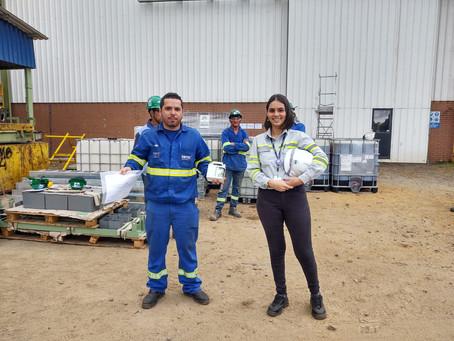 Eletricista da DBTEC recebe prêmio da Confab por Segurança no Trabalho