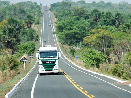 Estudo detalha as rotas de maior risco para o transporte de cargas no Brasil