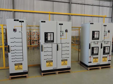 Painéis Elétricos para Eletrificação de Estações de Telecomunicações, inclusive para a era 5G