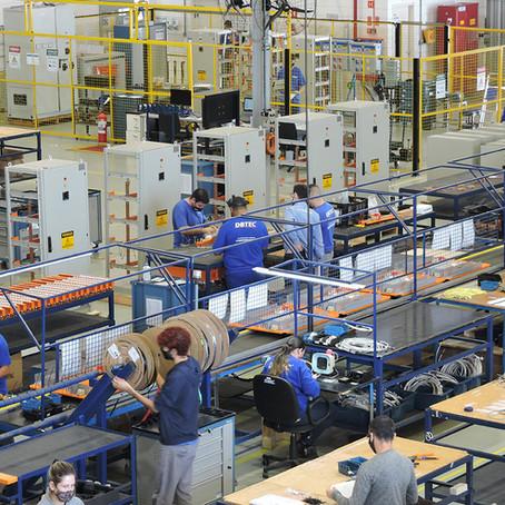 O setor industrial é o termômetro da economia e a principal engrenagem para o crescimento do país.