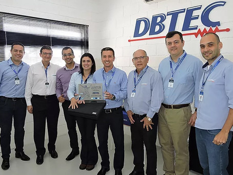 WEG faz homenagem à DBTEC pelos 20 anos