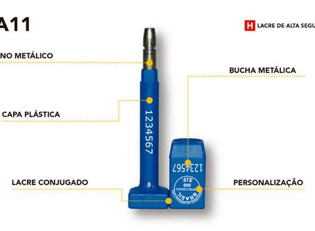 Pino e Bucha SLA11 de Alta Segurança, o lacre mais completo do mercado!