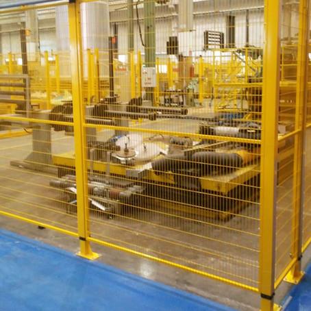 NR-12, Mudanças de linha, Movimentação de máquinas e equipamentos.