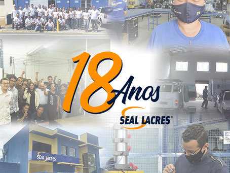 Seal Lacres 18 anos!