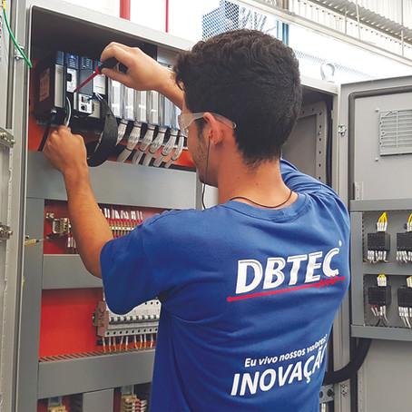 Painéis Elétricos para Equipamentos de Movimentação de Cargas contam com a qualidade DBTEC