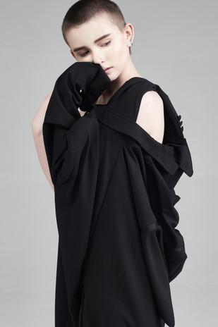 Image Credits: Designer: Emily Lowndes Photographer:Catherine Dineley  Stylist:Rachel Heeley MUA:Meg Plummer Model: Jalen Taylor