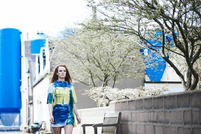 Designer: Amy Forbes Photographer: Abby Quick Model: Erin Hamilton Stylist: & HairRachel Heeley MUA: Emma McMahon Assistant: Emma Owen