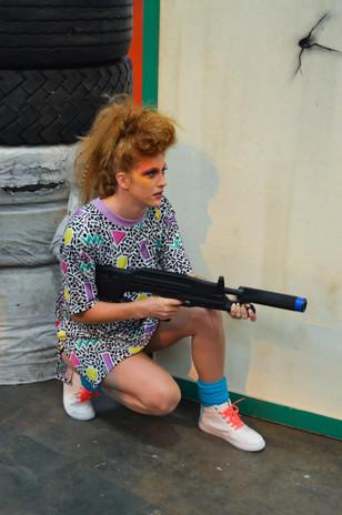 Designer: Dreamland Stylist & Photographer: Rachel Heeley Models: Kerrie Davidson & Kerry Ellis Make-Up: Emma McMahon  A special thank you to ScotKart Indoor Go Karting Dundee.